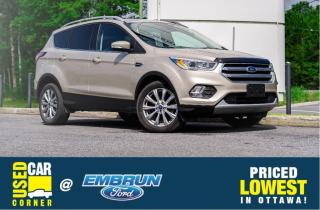 Used 2017 Ford Escape Titanium for sale in Embrun, ON