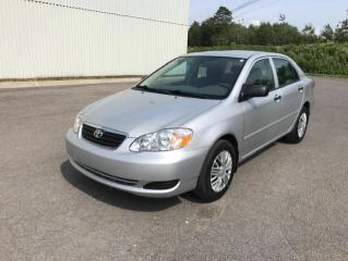 Used 2006 Toyota Corolla 4DR SDN CE AUTO for sale in Quebec, QC