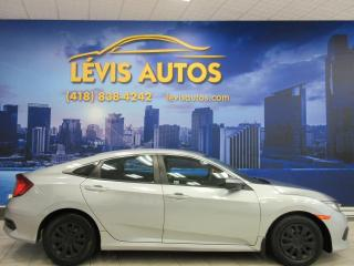 Used 2017 Honda Civic LX CAMERA DE RECUL AIR CLIMATISE TOUT EQ for sale in Lévis, QC