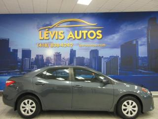 Used 2015 Toyota Corolla AUTOMATIQUE BLUETOOTH AIR CLIMATISE SEUL for sale in Lévis, QC