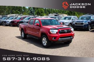 Used 2013 Toyota Tacoma - Aftermarket Remote Start, Rear View Camera for sale in Medicine Hat, AB