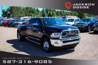 Used 2016 RAM 3500 Longhorn Limited - Under 7500 km, Dually for sale in Medicine Hat, AB