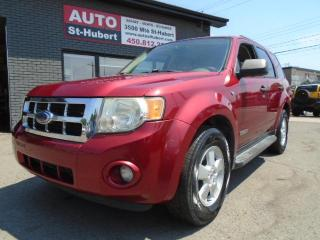Used 2008 Ford Escape XLT for sale in St-Hubert, QC