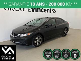 Used 2015 Honda Civic SEDAN EX ** GARANTIE 10 ANS ** Fiabilité et économie de carburant au rendez-vous! for sale in Shawinigan, QC