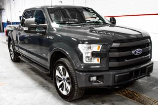 Used 2016 Ford F-150 LARIAT Toit ouvrant Cuir GPS for sale in St-Hubert, QC