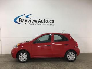 Used 2017 Nissan Micra - 5SPD! 17,000KMS! for sale in Belleville, ON