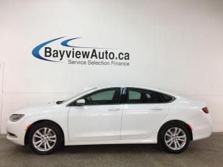 Used 2016 Chrysler 200 Limited - AUTO! HTD SEATS! ALLOYS! LOW KMS! for sale in Belleville, ON