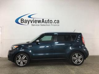 Used 2017 Kia Soul EX+ - ONLY 6000KMS! HTD LEATHER! PANOROOF! ALLOYS! for sale in Belleville, ON