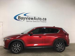 Used 2018 Mazda CX-5 GT - AWD! HTD LEATHER! NAV! SUNROOF! + MORE! for sale in Belleville, ON
