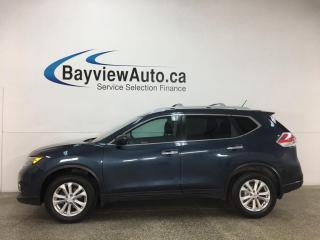Used 2016 Nissan Rogue SV - AWD! PANOROOF! HTD SEATS! ALLOYS! + MORE! for sale in Belleville, ON