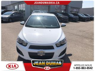 Used 2016 Chevrolet Sonic MODÈLE LS 5 PORTES CRUISE CLIMATISEUR for sale in Alma, QC