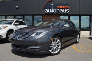 Used 2016 Lincoln MKZ HYBRID/Navigation/Sunroof/Leather/Loaded Hybrid for sale in Concord, ON