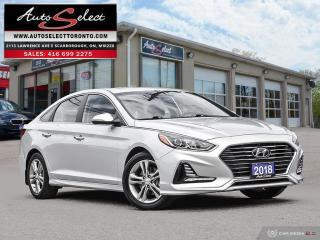 Used 2018 Hyundai Sonata GLS ONLY 72K! **LEATHER**SUNROOF**BACK-UP CAMERA** for sale in Scarborough, ON