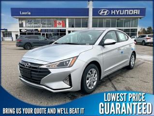 New 2020 Hyundai Elantra ESSENTIAL AUTO for sale in Port Hope, ON