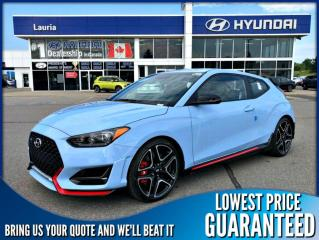 New 2020 Hyundai Veloster N Manual for sale in Port Hope, ON