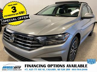 Used 2019 Volkswagen Jetta 1.4 TSI Highline HEATED LEATHER SEATS AND MUCH MORE.. for sale in Calgary, AB