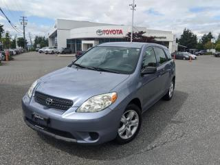 Used 2007 Toyota Matrix 5-door FWD 4A for sale in Surrey, BC