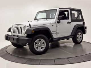 Used 2018 Jeep Wrangler Sport 4X4 for sale in Brossard, QC