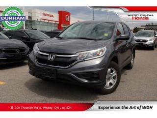 Used 2016 Honda CR-V 2WD 5dr LX for sale in Whitby, ON