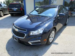 Used 2016 Chevrolet Cruze GAS SAVING 1-LT EDITION 5 PASSENGER 1.4L - TURBO.. TOUCH SCREEN.. BACK-UP CAMERA.. BLUETOOTH SYSTEM.. CD/AUX/USB INPUT.. KEYLESS ENTRY.. for sale in Bradford, ON
