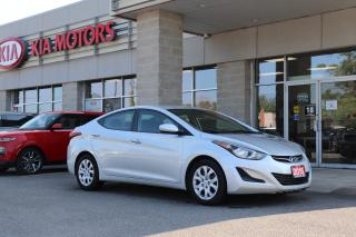 Used 2015 Hyundai Elantra GLS HEATED SEATS | USB | BLUETOOTH for sale in Cobourg, ON