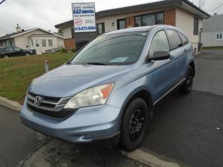 Used 2011 Honda CR-V LX for sale in Ancienne Lorette, QC