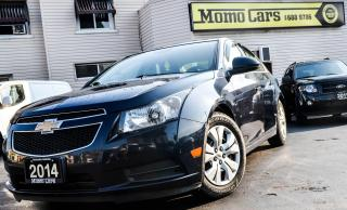 Used 2014 Chevrolet Cruze LT + Backup Camera! Only $78/Biweekly! for sale in St. Catharines, ON