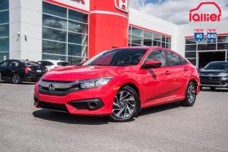 Used 2017 Honda Civic GARANTIE LALLIER MOTO-PROPULSEUR 10ANS/200,000 KIL P5089   ROUGE for sale in Terrebonne, QC