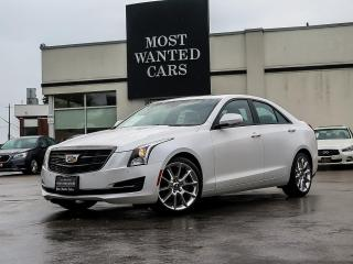 Used 2017 Cadillac ATS LUXURY|AWD|BLIND| NAV for sale in Kitchener, ON