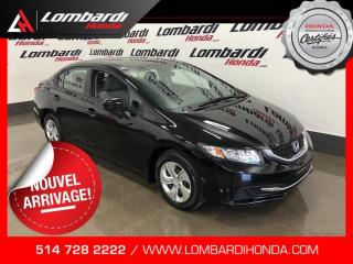 Used 2015 Honda Civic LX|AUTOMATIQUE|CAM| for sale in Montréal, QC