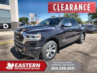 New 2020 RAM 1500 Limited | Fwd. Collision Wrn. | 0% Financing | for sale in Winnipeg, MB