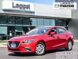Used 2014 Mazda MAZDA3 GS- AUTOMATIC, BLUETOOTH, HEATED SEATS, ALLOY WHEELS for sale in Burlington, ON