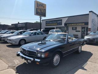 Used 1988 Mercedes-Benz 560SL SHOWROOM CONDITION for sale in Etobicoke, ON