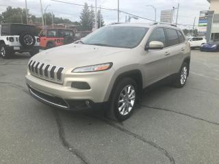 Used 2015 Jeep Cherokee 4 RM, 4 portes, Limited for sale in Sherbrooke, QC
