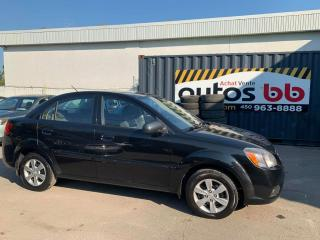 Used 2011 Kia Rio ( 137 000 KM - ROULE COMME NEUF ) for sale in Laval, QC