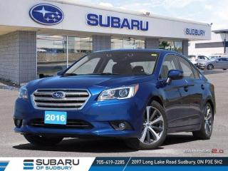 Used 2016 Subaru Legacy 3.6R w/Limited & Tech Pkg for sale in Sudbury, ON
