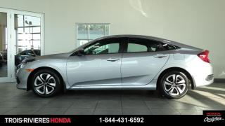 Used 2017 Honda Civic LX + GARANTIE 5/120 + CAMERA RECUL! for sale in Trois-Rivières, QC