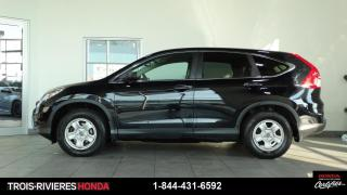 Used 2016 Honda CR-V LX + 2WD + DEMARREUR + BLUETOOTH! for sale in Trois-Rivières, QC