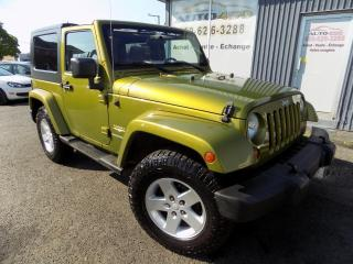 Used 2007 Jeep Wrangler ***SAHARA,4X4,AUCUN ACCIDENT,A/C*** for sale in Longueuil, QC