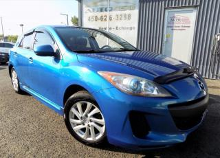 Used 2012 Mazda MAZDA3 Sport **GS-SKY,A/C,TOIT,MAGS,XTRA CLEAN** for sale in Longueuil, QC