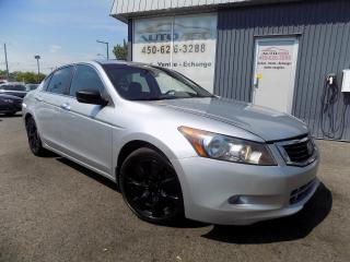 Used 2010 Honda Accord **EX-L,CUIR,TOIT,NAV,MAGS,ÉQUIPÉ** for sale in Longueuil, QC