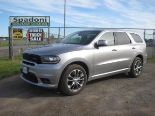 Used 2019 Dodge Durango GT for sale in Thunder Bay, ON