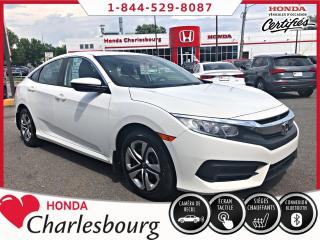 Used 2017 Honda Civic LX **UN PROPRIÉTAIRE** for sale in Charlesbourg, QC