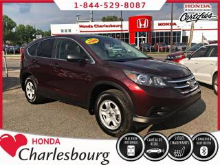 Used 2013 Honda CR-V LX AWD***79 505 KM*** for sale in Charlesbourg, QC