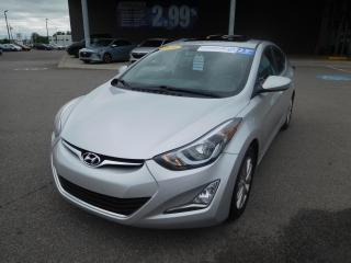 Used 2016 Hyundai Elantra Sport,TOIT,MAGS,CAMERA,CRUISE,A/C for sale in Mirabel, QC