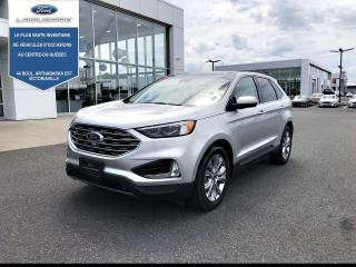 Used 2019 Ford Edge Titanium AWD CUIR TOIT PANO NAV for sale in Victoriaville, QC