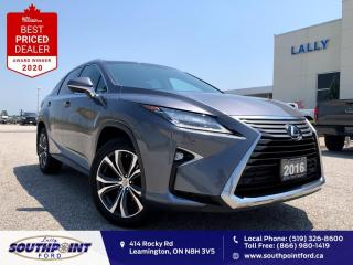Used 2016 Lexus RX 350 AWD|Leather|HTD&Cooled seats|Sunroof|Navi| for sale in Leamington, ON