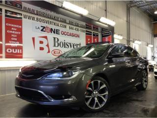 Used 2016 Chrysler 200 200C GPS / NAVIGATION CUIR TOIT CAMÉRA DÉMARREUR ! for sale in Blainville, QC