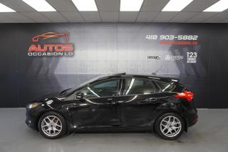 Used 2016 Ford Focus SE SPORT 5 VITESSES + TOIT OUVRANT GPS NAV CAMERA for sale in Lévis, QC