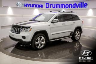 Used 2013 Jeep Grand Cherokee OVERLAND + GARANTIE + NAVI + TOIT PANO + for sale in Drummondville, QC